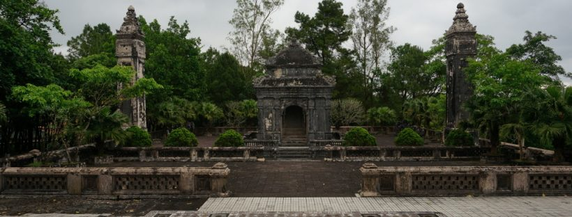 Imperial Tombs, Hue - Vietnam | gpx recorrido moto tumbas imperiales Hue