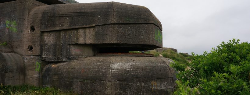 Bunker Wn81 1 M178, Atlantic Wall - IJmuiden | route atlantic wall netherlands