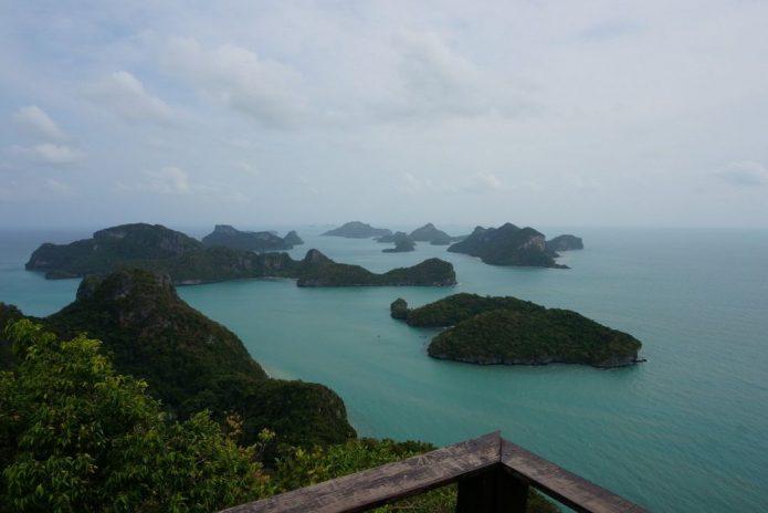 Vistas desde el mirador de Ko Wua Talap | Mu Ko Ang Thong