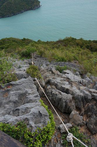 Subiendo al Mirador de Ko Wua Talap | Mu Ko Ang Thong