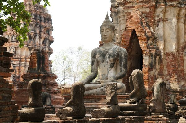 Wat Phra Mahathat | Ciudad Histórica de Ayutthaya, Tailandia