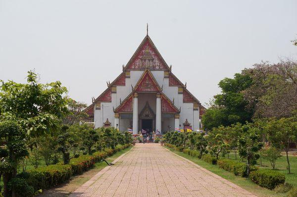 Wihaan Phra Mongkhon Bophit | Ciudad Histórica de Ayutthaya, Tailandia
