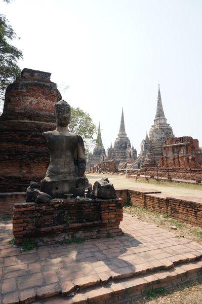 Wat Phra Si Sanphet | Ciudad Histórica de Ayutthaya, Tailandia