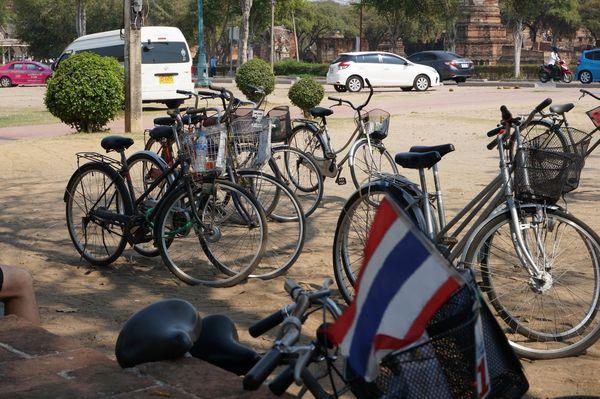 Ruta en bici | Ciudad Histórica de Ayutthaya, Tailandia