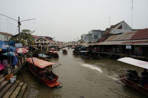 Mercado flotante de Amphawa | Bangkok