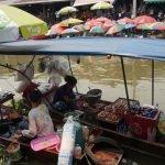 Mercados Flotantes – Bangkok, Tailandia