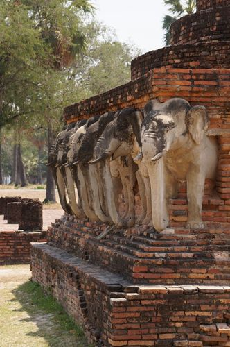Wat Sorasak | Parque Histórico de Sukhothai