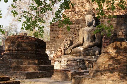 Wat Mahathat | Parque Histórico de Sukhothai