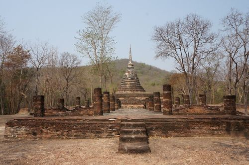 Wat Chedi Ngarm | Parque Histórico de Sukhothai