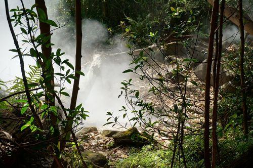 Fumarolas, Rincon de la Vieja - Costa Rica