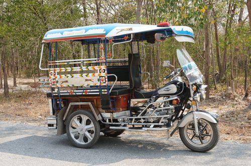 Tuk tuk, Sukhothai - Thailand