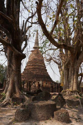 Wat Chang Lom | Parque Histórico de Sukhothai