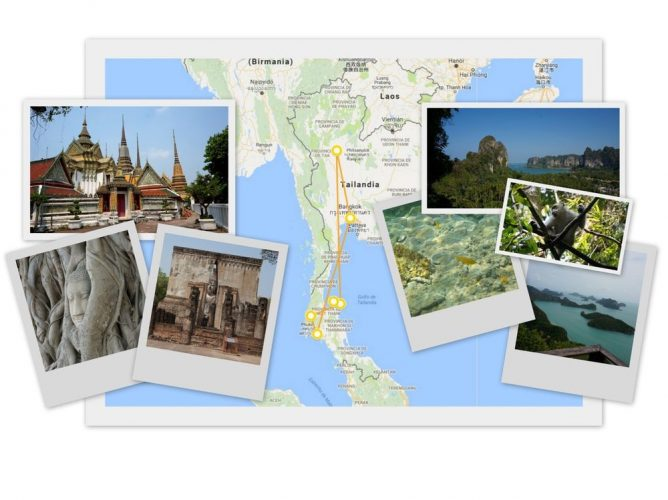 Itinerario 2 semanas en Tailandia | Itinerary 2 weeks in Thailand