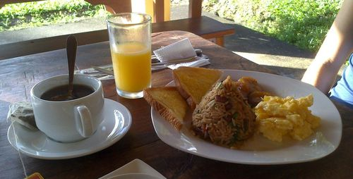 Desayuno típico | Volcán Arenal, La Fortuna
