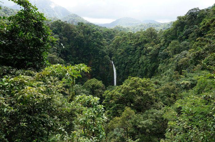 Catarata La Fortuna desde Mirador | Volcán Arenal