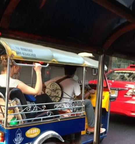Tuk tuk | Transporte en Bangkok, Tailandia