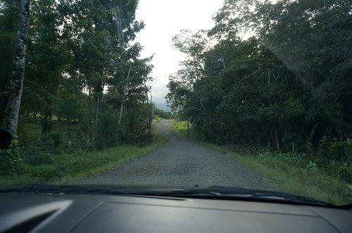Carretera hacia Rio Celeste - Costa Rica