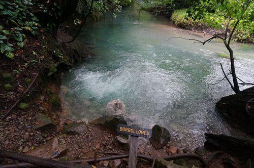 Borbollones Rio Celeste - Parque Nacional Volcán Tenorio, Costa Rica