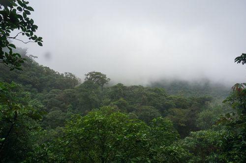 Vistas al Volcán Tenorio - Costa Rica