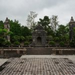 Route by motorbike along tombs – Hue, Vietnam