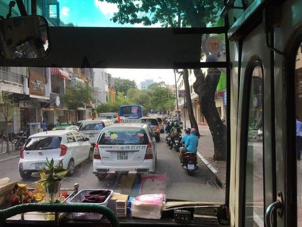 Public bus Ho Chi Minh - Consejos viaje Vietnam