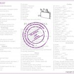 More than 100 things to check! – Travel Checklist