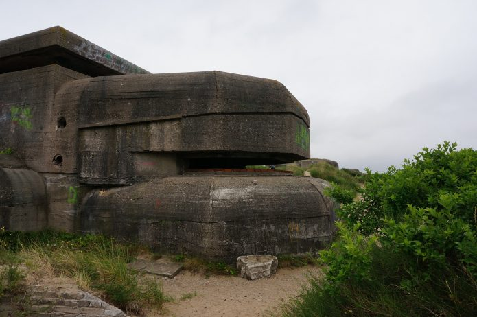 Bunker Wn81 1 M178, Atlantic Wall - IJmuiden | Ruta en bicicleta por el Muro Atlántico | IJmuiden, Países Bajos