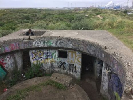 Bunker Fl 244, Atlantic Wall - IJmuiden