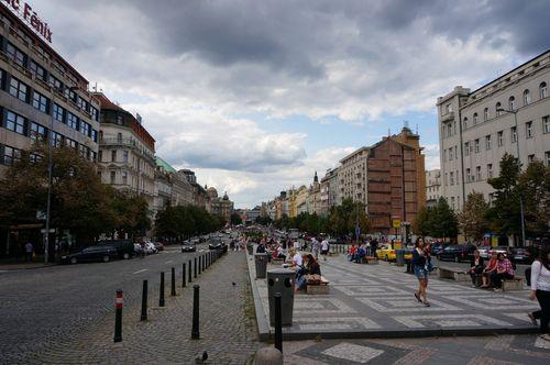 Plaza de Wenceslao | Praga