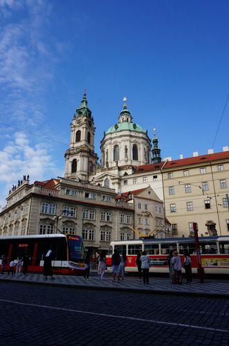 Iglesia de San Nicolás y Campanario | Praga