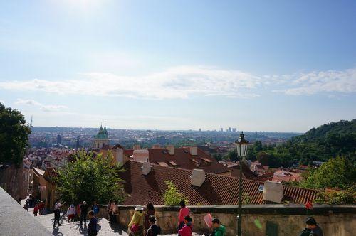 Mirador Castillo de Praga | Recorrido por Praga: mala strana castillo petrin