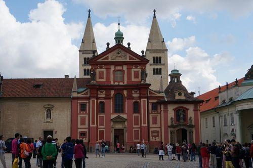 Basílica de San Jorge | Recorrido por Praga: mala strana castillo petrin