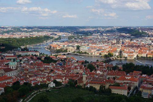 Vistas desde Petrin | Praga