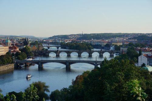 Mirador del metrónomo | Mirador en Praga