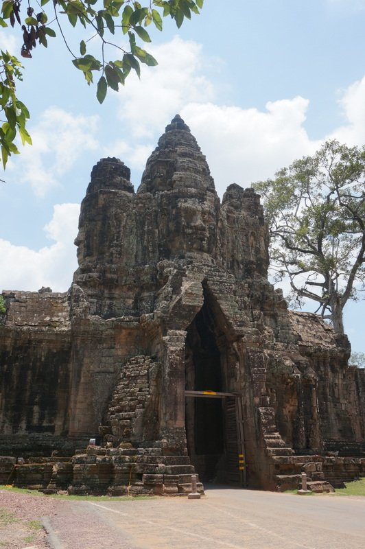 South Gate of Angkor Wat | Cambodia