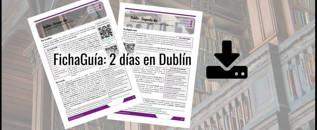 2 días en Dublín