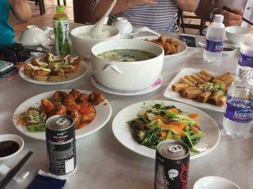 Almuerzo tour túneles de Cu Chi, Vietnam