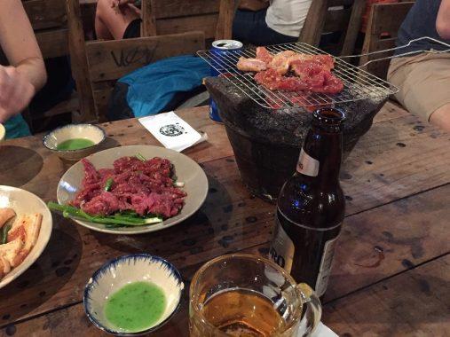 BBQ en Ho Chi Minh, Vietnam