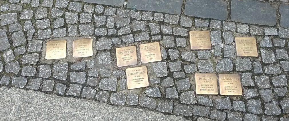 historia judía lugares Berlin