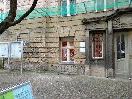 Edificio con impactos de bala | Berlin