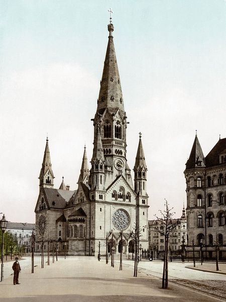 IglesiaKaiser Wilhelm antes de ser destruida | Berlin