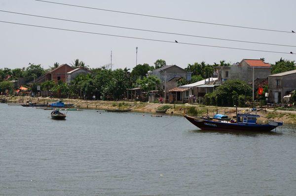 Vistas de Cam Kim desde el puente - Hoi An | Itinerario 19 días Vietnam