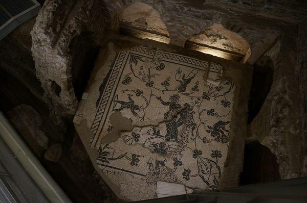 Mosaico de una de las tumbas de la Necrópolis de la Vía Triumphalis | Consejos para viajar a Roma