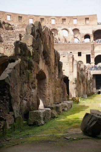 Subterráneo del Coliseo | Consejos para viajar a Roma
