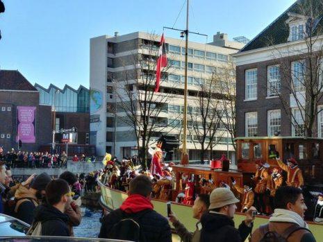 Sinterklaas, Canal Parade