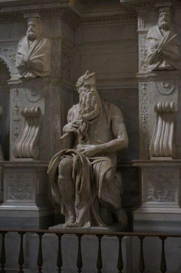 San Pietro in Vincoli, escultura de El Moises - ¿Qué iglesias visitar en Roma?