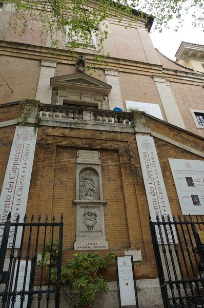 Santa Maria della Concezione dei Cappuccini, exterior - Roma