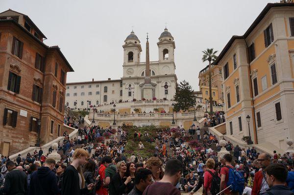 Iglesia Trinità dei Monti - Roma