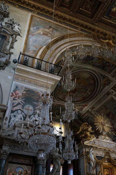 Basílica de Santa María de Aracoeli, interior -| Qué iglesias visitar en Roma