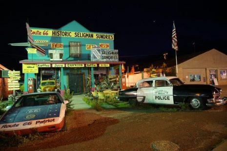 3 semanas de road trip Costa Oeste - Ruta 66 - Seligman